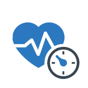 heart icon with pulse