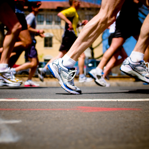 marathon running