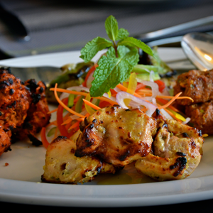 Indianized veggie spicy Chicken