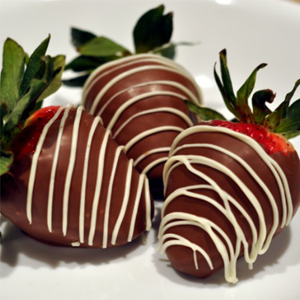 Choco dipped Strawberries