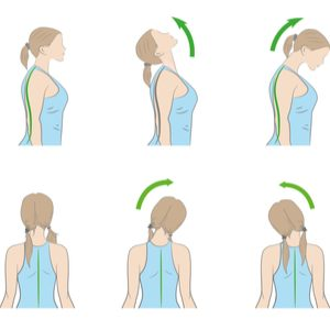 Jawline Exercise: Rotating your Neck