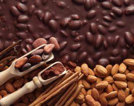 banner chocolate desserts