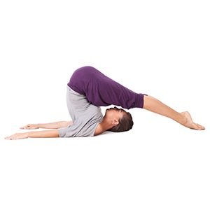 Halasana - Yoga for Naturally Glowing Skin