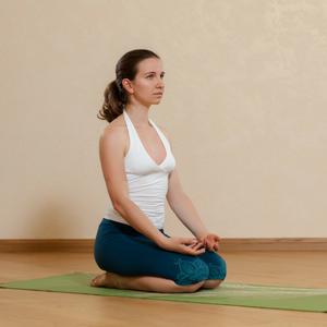 Vajrasana - Yoga for Naturally Glowing Skin