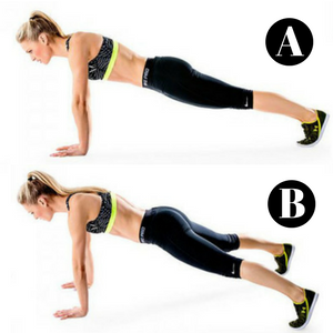 10 Minute Core Workout For A Fitter New You! - Plank Jacks