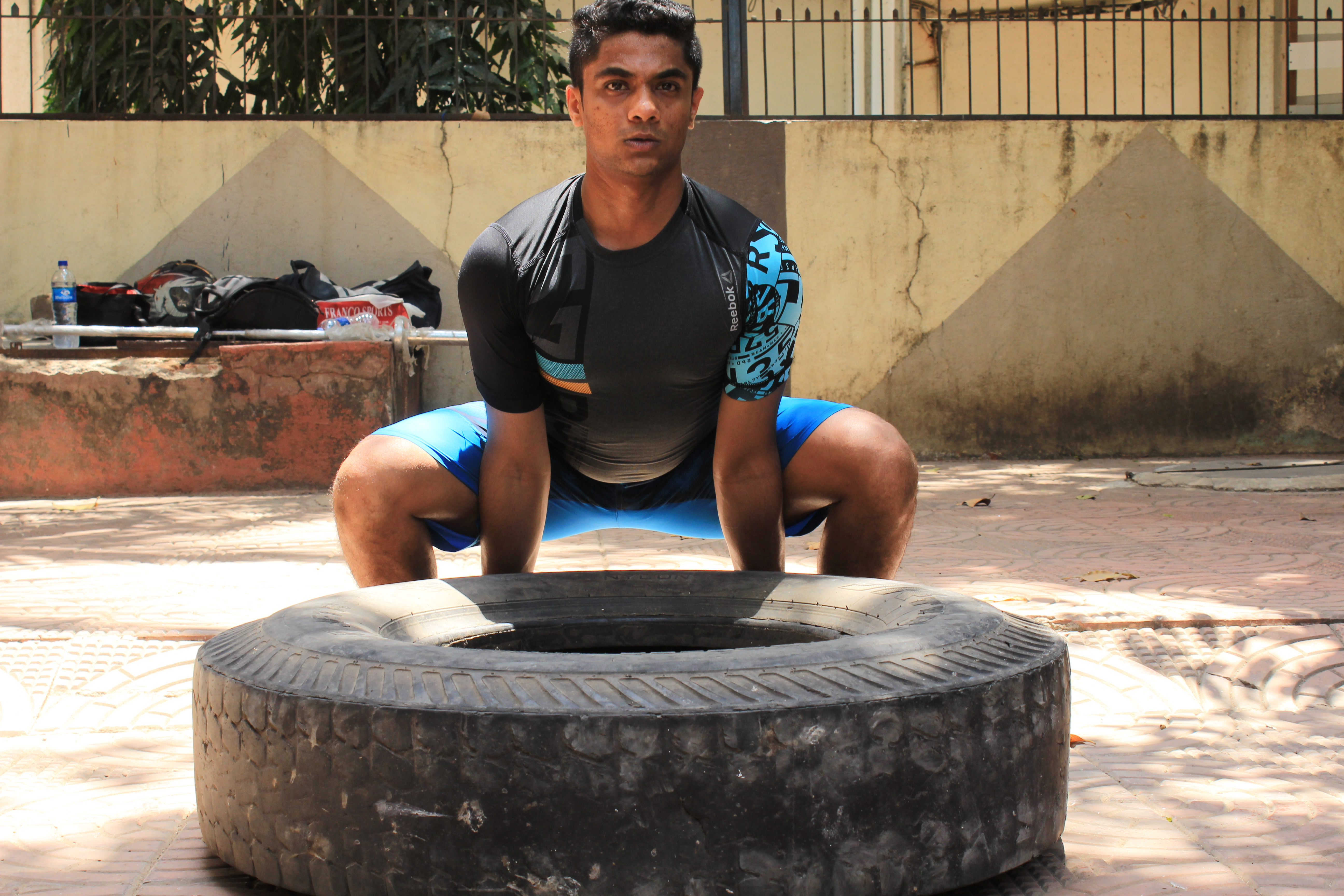 Kaustubh Working Out