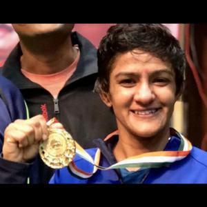 Ritu won a gold