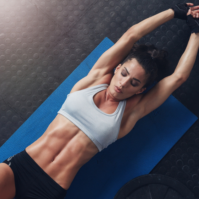 Say hello to sexy abs