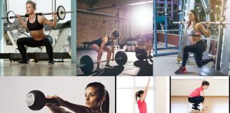 Workout for woman