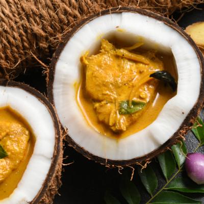 Fishy affair – Rohu in coconut gravy
