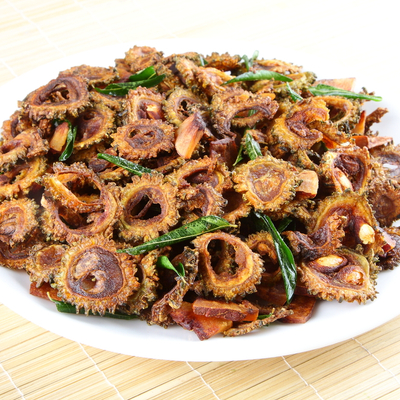 Fried Karela