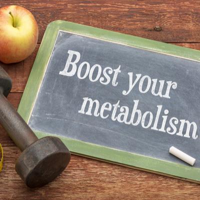 Hiked metabolism