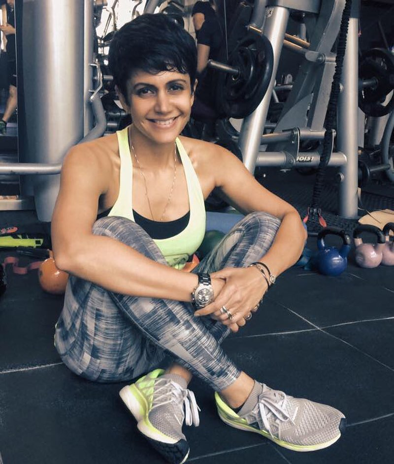 Mandira Bedi Workout