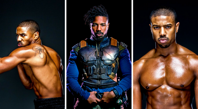 Michael B Jordan (erik killmonger) - workout