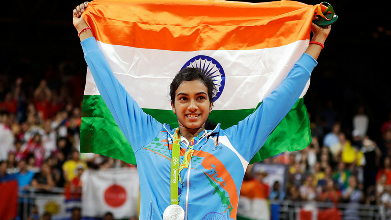 How PV Sindhu Aces Her Diet And Fitness Regimen To Be The ... Badminton Player Png