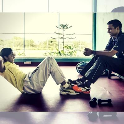 PV Sindhu_Badminton-Workout