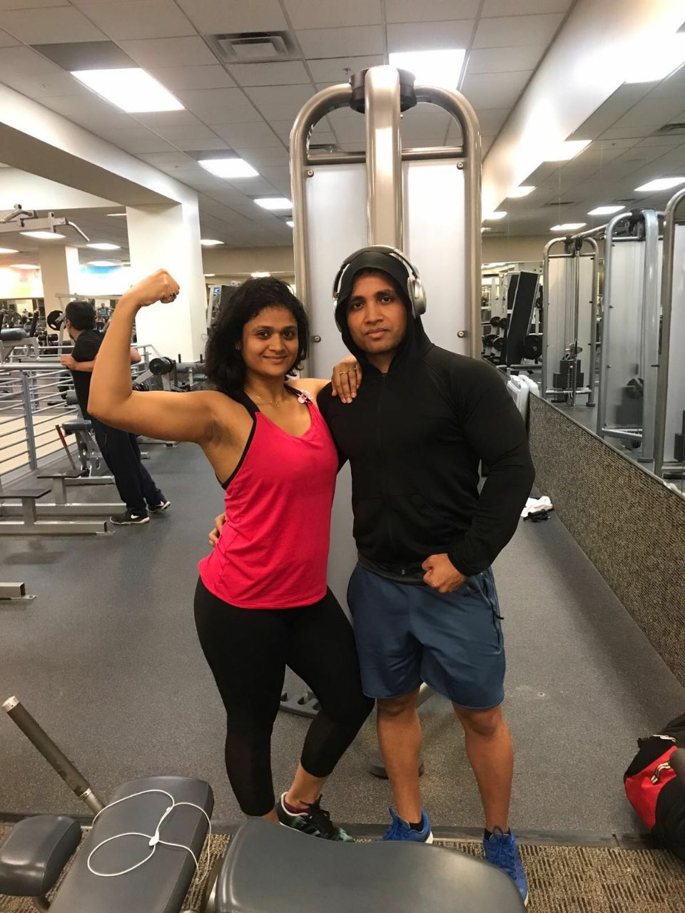 Couple's fitness - problems enroute