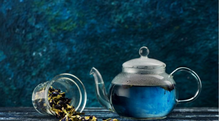 Blue Tea Banner