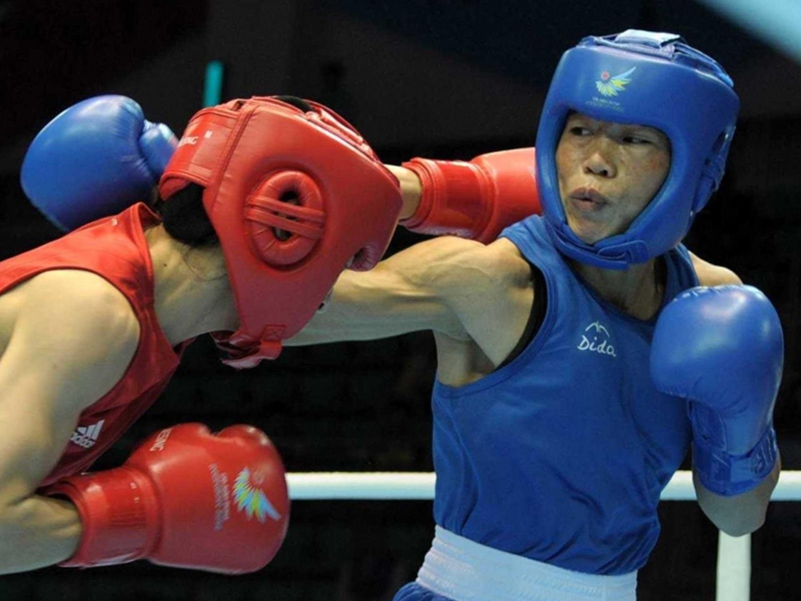 Mary Kom gold medal
