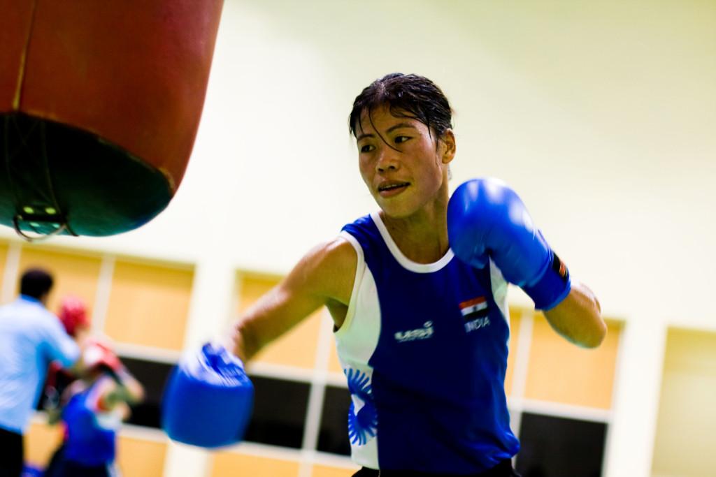 Mary Kom boxing