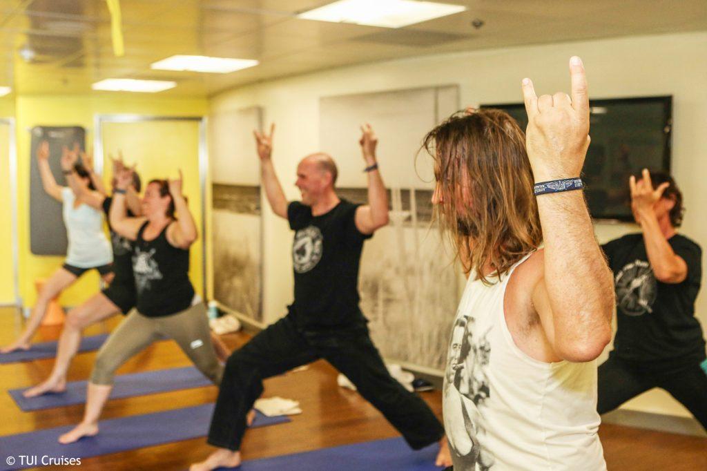 death metal yoga