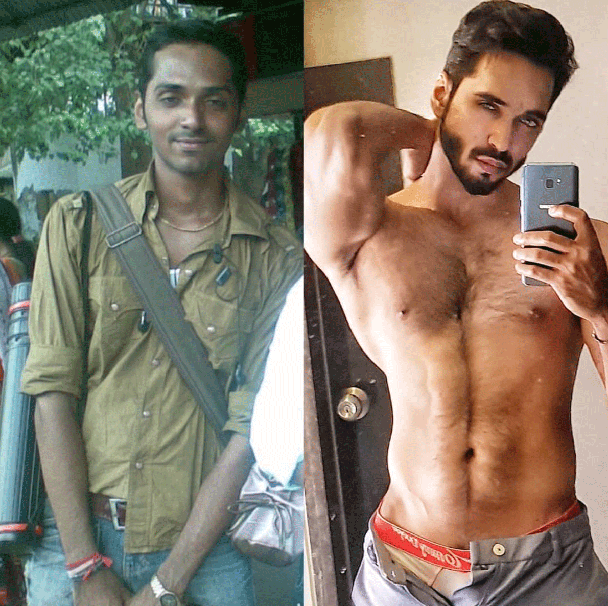 body transformation #10yearschallenge
