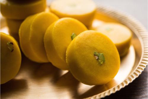 Khoya Peda traditional diwali desserts
